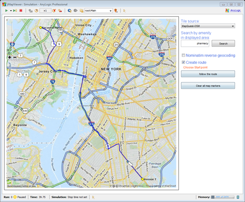 GIS Alternatives for AnyLogic – AnyLogic Simulation Software