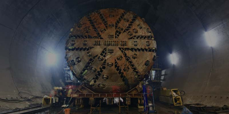Simulation of the Construction of a Tunnel with a Tunnel Boring Machine