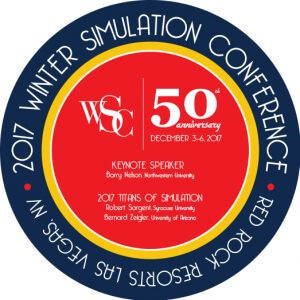 Platinum Sponsor – Our WinterSim Events