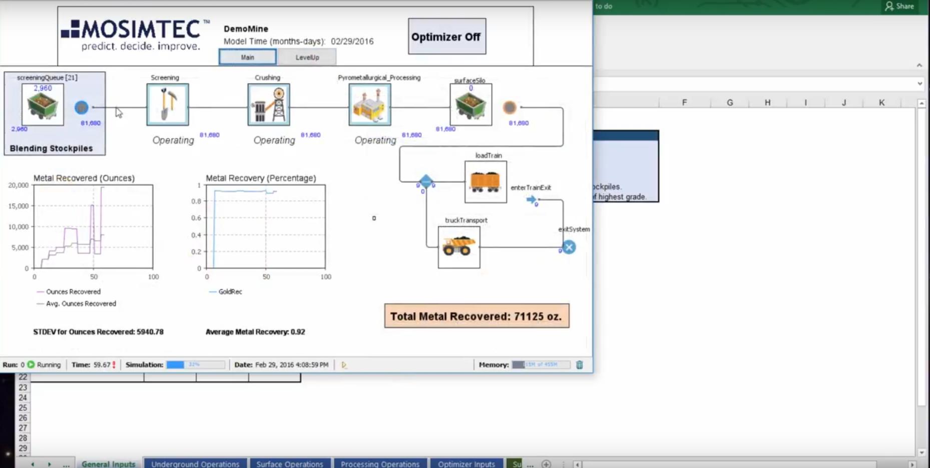 Mining Simulation Software Anylogic Simulation Software