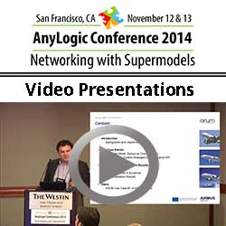 AnyLogic Conference 2014: Video Presentations