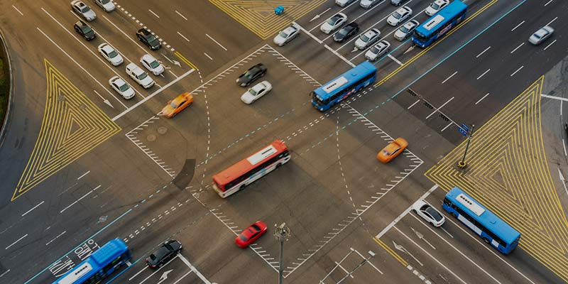 research of traffic flow in the transport hub of volokolamskaya in