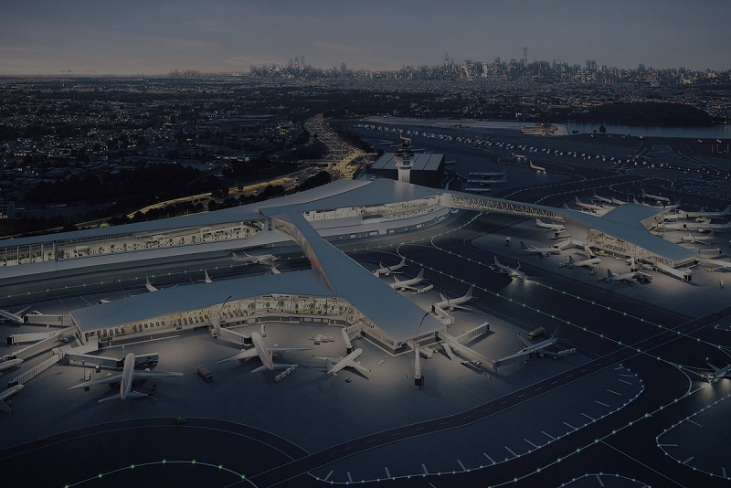 Optimizing Airport Processes and Designing Transportation Facilities with Simulation