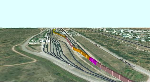 鐵路圍場3D