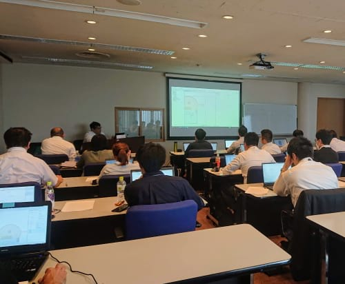 AnyLogic workshop in Japan 3