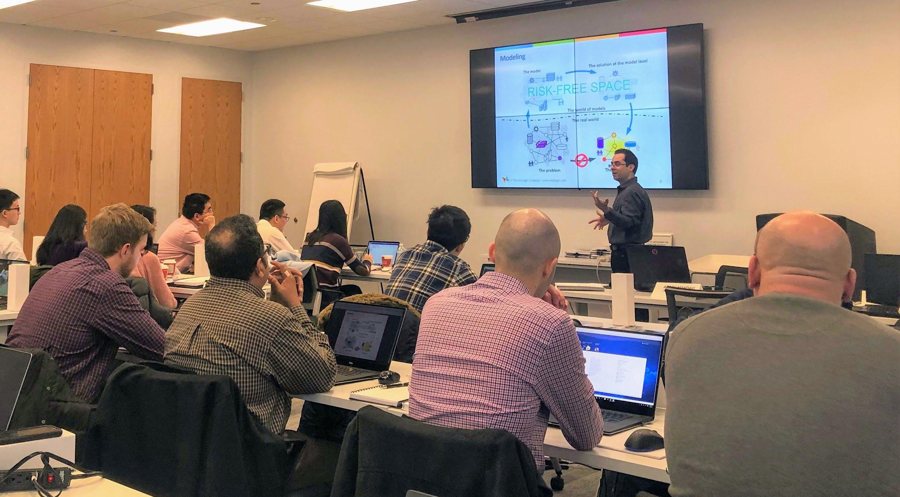 AnyLogic software training in Oakbrook Terrace – AnyLogic