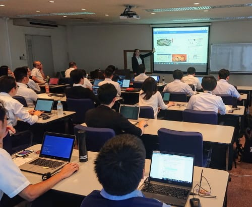 AnyLogic workshop in Japan 2