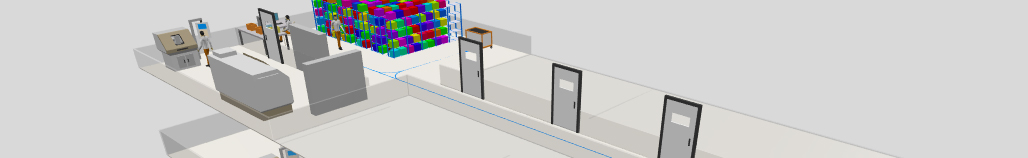 Simulating multilevel facilities