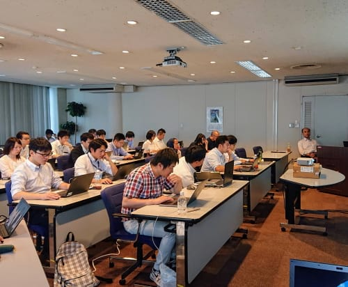 AnyLogic workshop in Japan 1