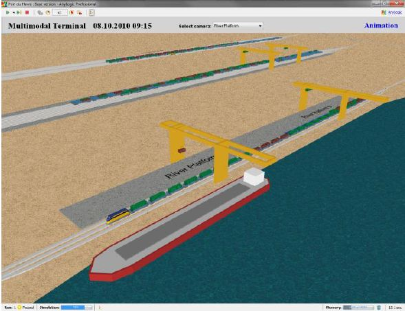 Multimodal Terminal Simulation